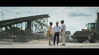 Episódio 3 - Natalie visita a fábrica da KM e recebe mensagem anônima com denúncia da extinção da reserva Eldorado no Congresso.