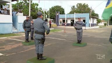 Três unidades da Policia Militar trocam de comando na Região Tocantina - Trocas ocorreram nas cidades de Imperatriz e Cidelândia e as três fazem parte do Comando de Policiamento de Área do Interior e são responsáveis pela segurança em 22 municípios.