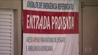 Justiça dá prazo para hospitais com atendimento fechado se explicarem - Os pronto-socorros do Hospital das Clínicas e do Santa Marcelina estão fechados para atendimentos gerais