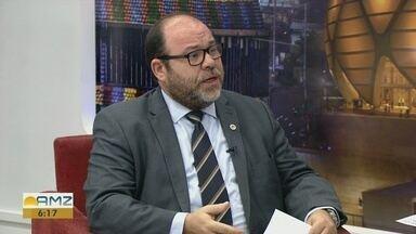 Conselho Regional de economia realiza encontro sobre a indústria 4.0 - Francisco de Assis Mourão Júnior, presidente do Conselho Regional de Economia, comenta.