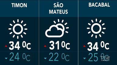 Confira as variações do tempo nesta sexta-feira (24) no Maranhão - Veja como deve ficar o tempo e a temperatura em São Luís e no Maranhão.