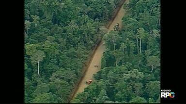 Presidente Jair Bolsonaro também fala sobre reabertura da da estrada do colono - Bolsonaro diz que, pelo Ministro do Meio Ambiente, licença para reabertura já está dada.