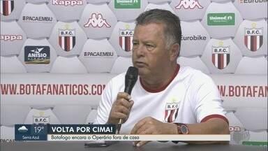 Botafogo-SP enfrenta Operário-PR fora de casa neste sábado (25) - O técnico Cavalo diz como deve escalar o time para jogo em Ponta Grossa.
