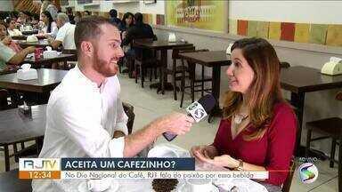 No Dia Nacional do Café, RJ1 fala da paixão pela bebida - Pesquisa apontou que café é a segunda bebida mais consumida no país.