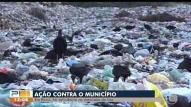 MP ajuíza ação contra prefeitura de Picos por conta de lixão - MP ajuíza ação contra prefeitura de Picos por conta de lixão