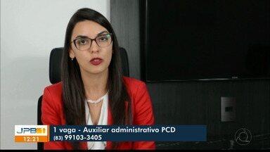 Escritório em João Pessoa oferece vaga para pessoa com deficiência - A vaga é para um escritório de advocacia.