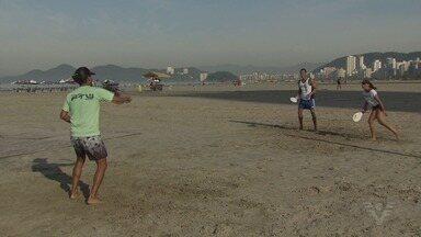 Praia do Boqueirão recebe o 1° Santos Open Frescobol - Com aferição da Federação de Frescobol do Rio de Janeiro (FEFERJ), competição acontece neste final de semana.