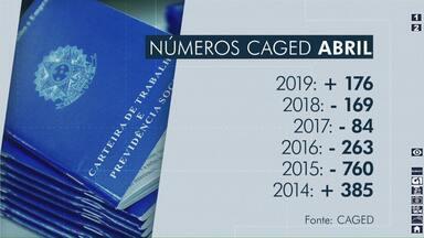 Mês de abril tem saldo positivo no número de vagas de emprego em Londrina - Foi o melhor mês de abril desde 2014. Veja quais setores mais contrataram.