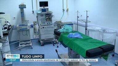 Maternidade e PA de Cobilândia serão reabertos no fim de semana, diz direção - As unidades ficaram alagadas com as chuvas que atingiram o município no último sábado (18). A limpeza do hospital começou na segunda-feira (20), depois que a água abaixou.