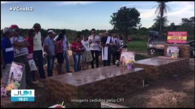 Ato relembra dois anos da Chacina de Pau D'Arco que matou dez trabalhadores - Todos os 16 suspeitos do crime estão soltos.