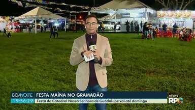 Começou hoje a Festa Maina em Foz - Festa da Catedral Nossa Senhora de Guadalupe vai até domingo, no gramadão da Vila A.