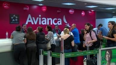 Anac suspende voos da Avianca até empresa comprovar segurança - Agência informou que vinha monitorando as operações da Avianca desde que a empresa entrou em recuperação judicial em dezembro.