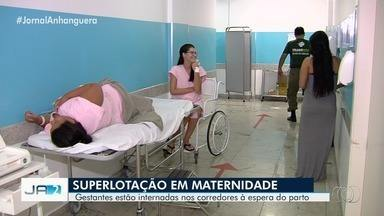 Maternidade Dona Iris tem 69 leitos, mas está superlotada com 95 mulheres, em Goiânia - Pacientes estão internadas até em corredores. A Secretaria de Saúde disse que o número de médicos na maternidade é suficiente e que é normal o atendimento demorar quando tem superlotação