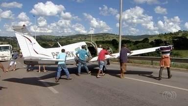 Reveja os principais assuntos desta semana em Goiás - Entre os destaques do último dia está pouso forçado na GO-070.