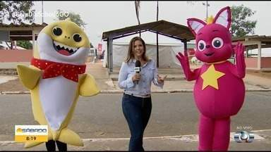 Baby Shark em Goiânia - Veja detalhes sobre a apresentação do fenômeno que conquistou a criançada.