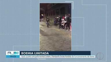 Petrópolis limita horário de funcionamento de bares nas ruas Nelson de Sá e Treze de Maio - Decisão saiu após confusões serem registradas nas últimas semanas.