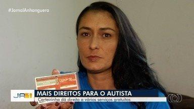 Carteirinha dá a crianças autistas passe livre em ônibus e preferência em filas, em Goiás - Direitos são os mesmos de outras pessoas com deficiência.