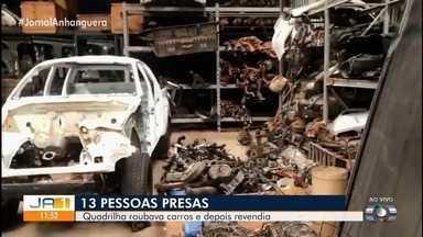 Polícia indicia 15 suspeitos de receptação e adulteração de carros em Goiás - Estimativa é que grupo tenha causado prejuízo de mais de R$ 50 milhões.