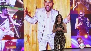 Encontro faz homenagem ao cantor Gabriel Diniz - Entre os convidados estão a cantora Solange Almeida e o ator Lucas Veloso, amigos do cantor