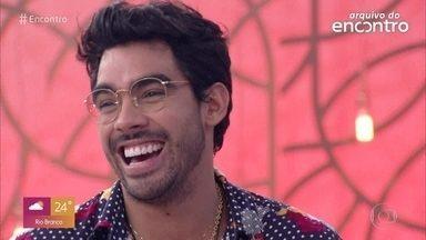 Relembre participação de Gabriel Diniz no #TBT do Encontro - Preparador vocal do cantor comenta vídeo emocionante postado nas redes