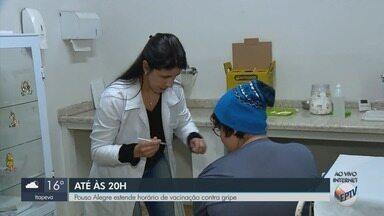 Campanha de Vacinação é estendida para o período da noite em Pouso Alegre (MG) - Campanha de Vacinação é estendida para o período da noite em Pouso Alegre (MG)