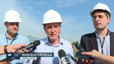 Marcelo Crivella se envolve em novas polêmicas - Prefeito do Rio critica justiça pela interdição da Avenida Niemeyer e diz que mulheres não entenderam a afirmação dele sobre o Vasco, ao comparar a ciclovia com o clube.