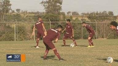 Ferroviária e Avenida disputam liderança do grupo na Série D do Brasileiro - Jogadores e equipe técnica trabalham em cima dos erros cometidos.
