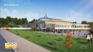 Novo santuário está sendo construído em Panamá - Com segunda maior festa do Divino Pai Eterno do estado, antiga igreja não está comportando a quantidade de fiéis.