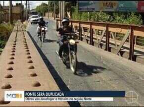 Obras vão desafogar trânsito na região Norte de Montes Claros - Ponte será construída entre os bairros JK e Floresta.
