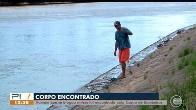 Corpo de vítima de afogamento é encontrado no Rio Igaraçu no Litoral - Corpo de vítima de afogamento é encontrado no Rio Igaraçu no Litoral