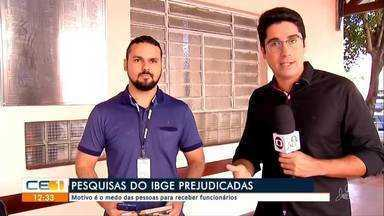 Pesquisas do IBGE prejudicadas - Saiba mais em g1.com.br/ce