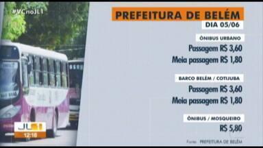 Passagem de ônibus passa para R$ 3,60 a partir desta quarta, 5 de junho - Prefeitura determinou na segunda, 3, um aumento de 30 centavos no valor da tarifa