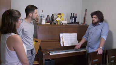 A Sala e o Piano
