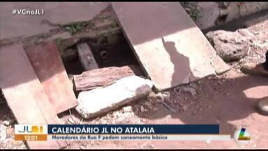 Moradores do bairro Atalaia, em Ananindeua, reclamam da falta de sanemento básico - Confira as informações com o repórter Guilherme Mendes
