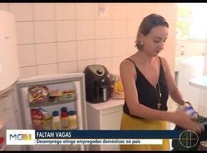 Desemprego atinge empregadas domésticas no país - Mais de 13 milhões de pessoas estão desempregadas no Brasil.