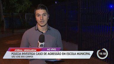 Funcionária de escola em São José presta queixa contra aluno por agressão - Vítima teria tomado um soco de um estudante.