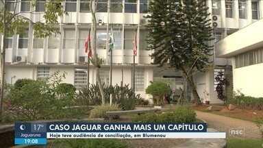 Blumenau recebe audiência de conciliação sobre tratamento de vítima de acidente com Jaguar - Blumenau recebe audiência de conciliação sobre tratamento de vítima de acidente com Jaguar