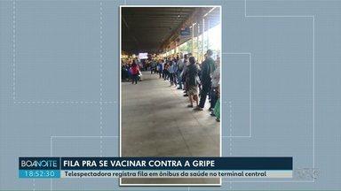 Vacina contra a gripe deve acabar nesta quarta (05) em Ponta Grossa, segundo secretário - A procura pela dose foi grande nas unidades de saúde depois que a vacinação foi liberada para todos os públicos.