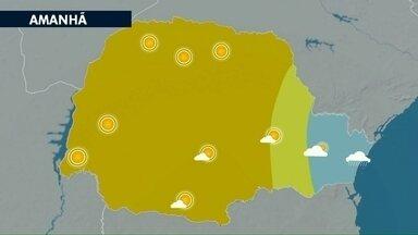 Quarta-feira pode ser o dia mais frio da semana no noroeste - As temperaturas nas primeiras horas do dia não passam dos 12°C.