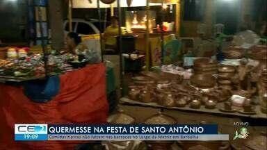 Comidas típicas não faltam na festa de Santo Antônio em Barbalha - Confira mais notícias em g1.globo.com/ce