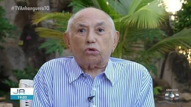 Ex-governador Siqueira Campos tem alta em Palmas - Ex-governador Siqueira Campos tem alta em Palmas