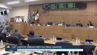 Projeto que pretende diminuir o número de vereadores em Praia Grande é aprovado - O projeto foi aprovado em primeira discussão nesta terça-feira (4).