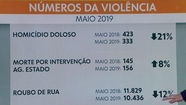 Número de mortes em confronto com a polícia subiu 8% em maio comparado a maio de 2018 - Os dados são do Instituto de Segurança Pública - ISP. Mas o levantamento registra que o número de homicídios dolosos teve queda de 21% no período;