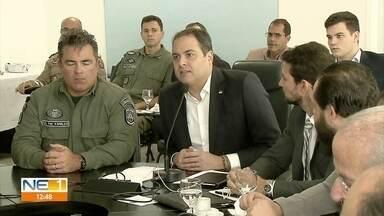 Candidatos aprovados em concurso da PM são convocados - Governador Paulo Câmara adiantou que não tem previsão de fazer concurso neste ano para a corporação.