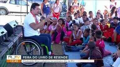 Clodoaldo Silva palestra no primeiro dia da Flir em Resende - undefined