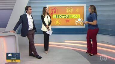 #sextoubdmg: Veja as atrações que vão agitar MG no fim de semana - Várias festas de peão e juninas deixam o estado animado.