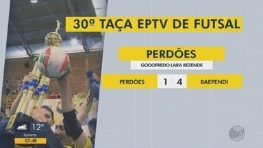 Veja os resultados dos jogos da Taça EPTV de Futsal - Veja os resultados dos jogos da Taça EPTV de Futsal
