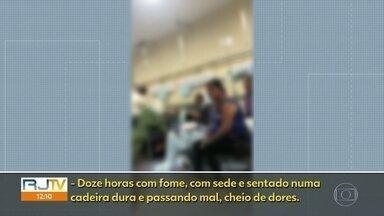 Crise nos hospitais federais do Rio - Pacientes ficam meses nas emergências em poltronas sem tratamento