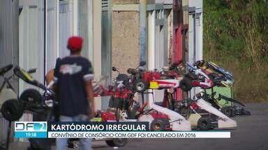 Controladoria do DF diz que kartódromo do Guará está irregular - O contrato do convênio Guará Motor Clube, que administra o kartódromo Ayrton Senna, e o GDF foi cancelado em 2016 pelo governo.