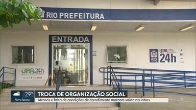 Troca de OSs na administração de postos de saúde deixa funcionários na incerteza - A prefeitura do Rio está tirando várias Organizações Sociais da administração das Unidades de Saúde. Uma das OSs a ser retirada foi a Iabas. O processo de troca trouxe incerteza para funcionários e pacientes.
